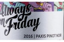 Paxis Always on Friday Pinot Noir