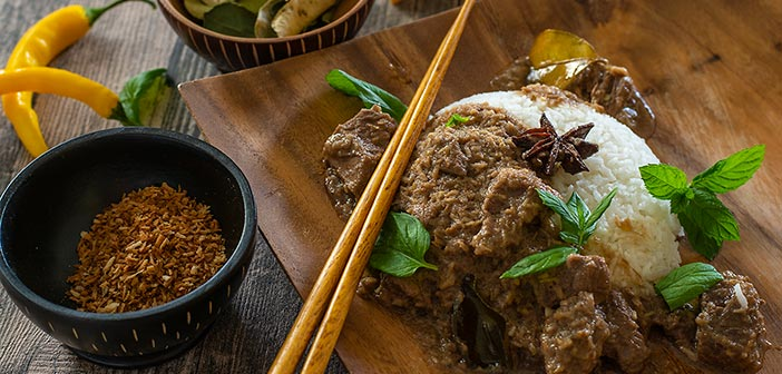 Rendang-curry